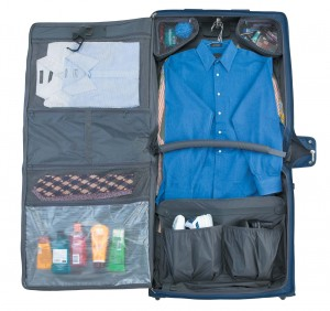 Packing the Travelpro Rolling Garment Bag