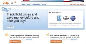 Yapta.com screenshot