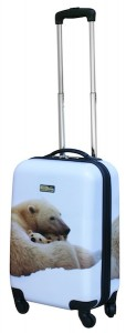 21 inch Polar Bear rollaboard from Travelpro's National Geographic Explorer Collection