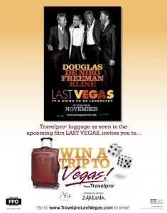 Last Vegas Contest Poster