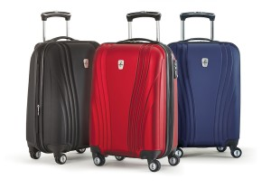 The Atlantic Lumina group of luggage.