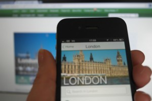 TripAdvisor on an iPhone, a must for business travelers