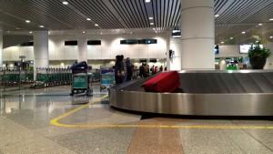 Baggage carousel, Kuala Lumpur airport