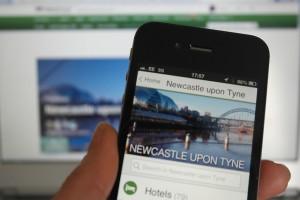 Trip Advisor mobile app