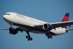 Delta Airline A330 airplane
