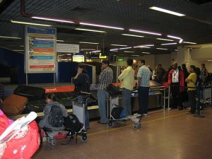 Baggage Claim Carousel at Heathrow. Wouldn't it be nice to skip the wait?