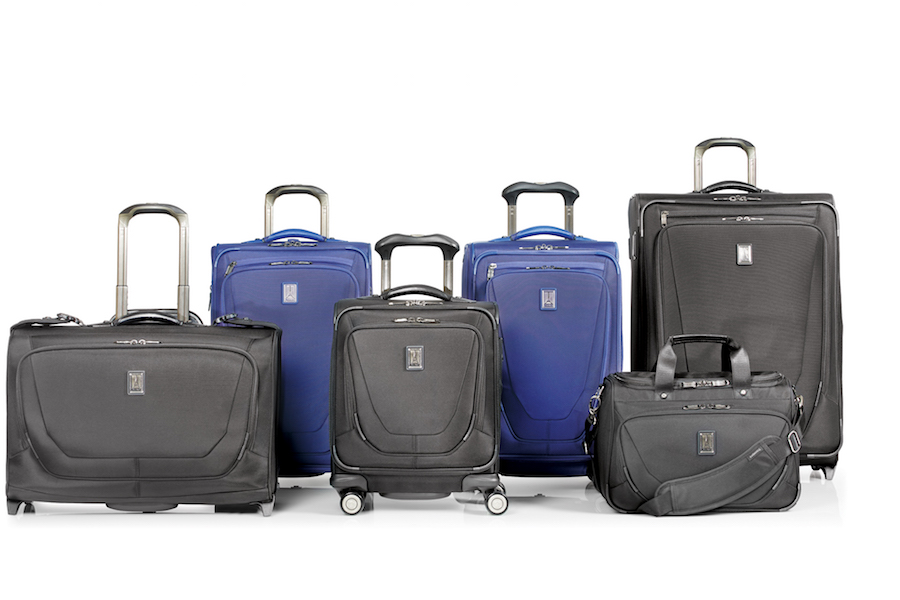 Travelpro Crew 11 Group Photo Collection With Both Spinner And Rollaboard Bags