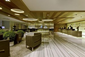 Lobby of the Novotel Nathan Road Kowloon Hong Kong hotel