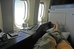 Sleeping on a plane can help with jet lag, but only if done at the right time.