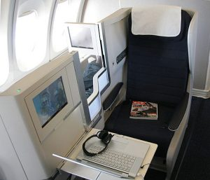 British Airlines New Club World Airplane Seat