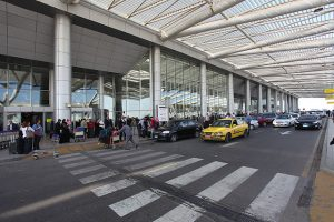 Curbside Check-in at Cairo's International Airport, Terminal 3