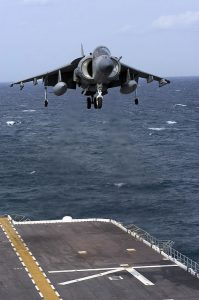 The Harrier Jump Jet's VTOL may be a model for one of the future features of air travel