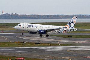 JetBlue, one of the more recent startup airlines.