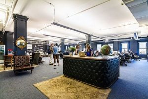 Fueled coworking space - ideal for business travelers