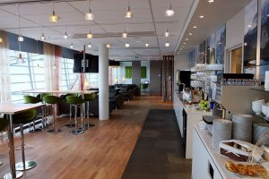 The Gardermoen Airport Lounge in Oslo, Norway