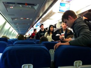 Air travel has a lot of travel etiquette rules.