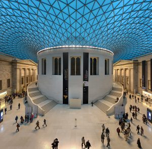 The British Museum Great Court, a great bleisure stop if you're in London on a business trip.