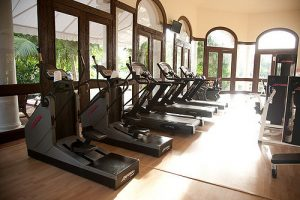Hotel Gym at Casa Velas Hotel in Puerto Vallarta, Mexico. A hotel gym is a great place to work out if you travel frequently.