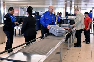The TSA is no longer allowing powders on inbound flights from foreign points of origin.