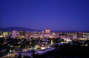 Photo of Albuquerque by Ron Berhmann (provided by Robert & Mary Carey)