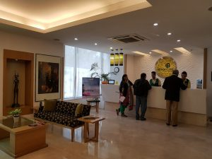 The Lemon Tree Hotel - Chandigarh. This hotel has a women-only floor for women travelers