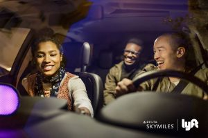 Delta and Lyft have teamed up to provide Delta loyalty miles to Lyft riders.