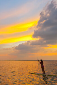 Key West Paddleboard at Sunset, by Rob O'Neal