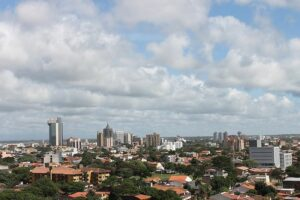 The Santa Cruz, Bolivia skyline. If you're thinking about traveling abroad, be sure to practice safety.