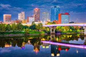 Little Rock, Arkansas skyline