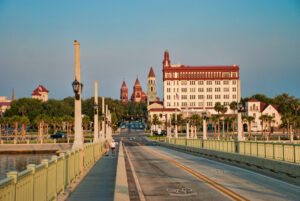 St. Augustine, FL from Bridge of Lions