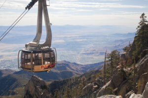Palm Springs tram in California
