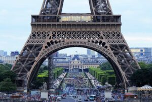 The Eiffel Tower is a great place to visit on your virtual travel trips.