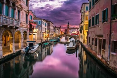 A canal in Venice, Italy. Travel interest is on the rise, thanks to the pandemic. Maybe you could travel there when this is over.