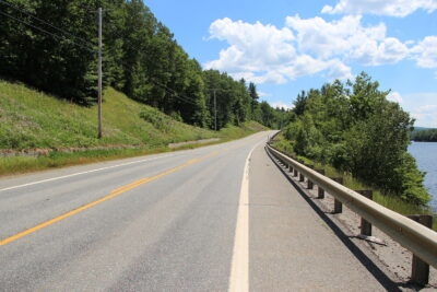 US Route 201 in Maine is one of the quietest roads in the U.S.